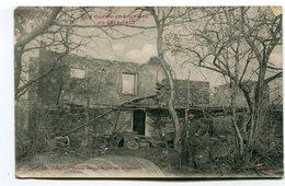 CPA   54  :  BACCARAT Maison Incendiée Et Récit De Guerre Au Verso 1918 VOIR  DESCRIPTIF  §§§ - Baccarat