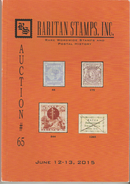 Raritan Stamps Auction 65,Jun 2015 Catalog Of Rare Russia Stamps,Errors & Worldwide Rarities - Catalogues For Auction Houses