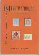 Raritan Stamps Auction 65,Jun 2015 Catalog Of Rare Russia Stamps,Errors & Worldwide Rarities - Catalogues De Maisons De Vente