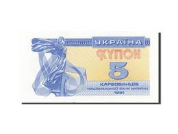 Ukraine, 5 Karbovantsiv, 1991, KM:83a, 1991, NEUF - Ukraine