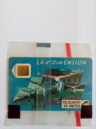FRANCE F36 4E DIMENSION FEMME 50U NSB MINT IN BLISTER RARE - France
