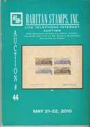 Raritan Stamps Auction 44,May 2010 Catalog Of Rare Russia Stamps,Errors & Worldwide Rarities - Catalogues For Auction Houses