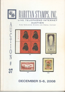 Raritan Stamps Auction 37,Dec 2008 Catalog Of Rare Russia Stamps,Errors & Worldwide Rarities - Catalogues For Auction Houses