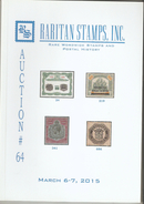 Raritan Stamps Auction 64,Mar 2015 Catalog Of Rare Russia Stamps,Errors & Worldwide Rarities - Catalogues For Auction Houses