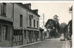 CARTE PHOTO - LA CASTAGNE  ( CAFE ) - Lyons-la-Forêt