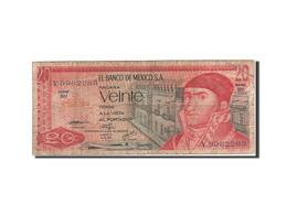Mexique, 20 Pesos, 1969-1974, 1976-07-08, KM:64c, B - Mexico