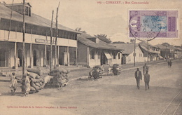 CPA - Conakry - Rue Commerciale - Guinée Française