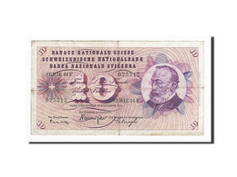 Suisse, 10 Franken, 1965-12-23, KM:45k, TB - Suiza