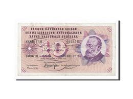 Suisse, 10 Franken, 1964-04-02, KM:45i, TTB - Suiza