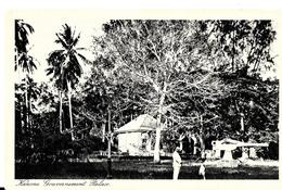 Tanzanie. Kanone Gouvernement Palace. - Tanzanie