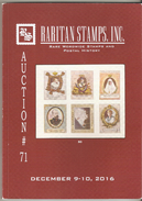 Raritan Stamps Auction 71,Dec 2016 Catalog Of Rare Russia Stamps,Errors & Worldwide Rarities - Catalogues For Auction Houses