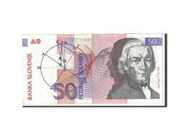 Slovénie, 50 Tolarjev, 1992, KM:13a, TTB - Slovénie