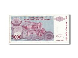 Croatie, 5000 Dinara, 1993, KM:R20a, TTB+ - Croatie