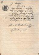 VP9580 - Acte De 1898 - Mr PUJOL à SAINTE LIVRADE - Manuscripts