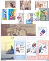 2016. Georgia, Full Complete Year Set 2016, 9 Stamps + 4 S/s, Mint/** - Georgia