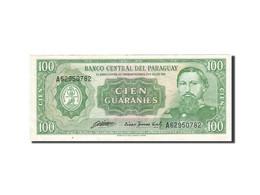 Paraguay, 100 Guaranies, 1952, 1952, KM:199b, SUP - Paraguay