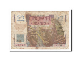 France, 50 Francs, 1950-03-02, KM:127b, TB, Fayette:20.14 - 1871-1952 Circulated During XXth