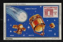 Bolivia,  1985, Space, Espace Comet Halley