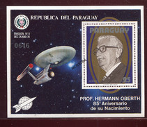 Paraguay, Hermann Oberth, **  Space, Espace,