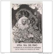 LPMTP7910CPA-LFTD6217TBES.Tarjeta Postal De GRAN CANARIAS.ARTE.Escultura De NUESTRA SEÑORA DEL PINO,PATRONA DE CANARIAS - Esculturas