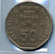 1988  50  ESCUDOS - Portugal