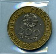 1991  200  ESCUDOS - Portugal