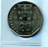 1989  20  ESCUDOS - Portugal