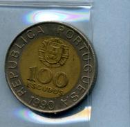 1990  100  ESCUDOS - Portugal