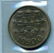 1971  10  ESCUDOS - Portugal