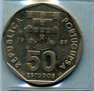 1989  50  ESCUDOS - Portugal