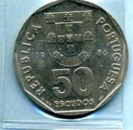 1986  50  ESCUDOS - Portugal