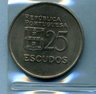 1980  25  ESCUDOS - Portugal