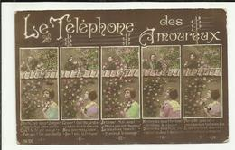 FANTAISIE . LE TELEPHONE DES AMOUREUX . COUPLE . - Couples