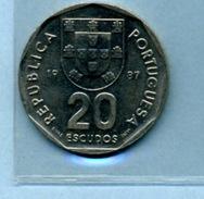 1987  20  ESCUDOS - Portugal