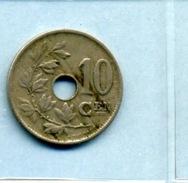 1920  10 CENTIMES BELGIE - 1909-1934: Albert I