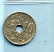 1923  10 CENTIMES BELGIQUE - 1909-1934: Albert I