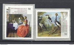 Deutschland / Germany / Allemagne 2017 3280R/81R ** Schätze A. D. Museen Selbstklebend Self-adhesive (02. 01. 2017) - Unused Stamps