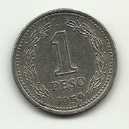 1959 - Argentina 1 Peso, - Argentina