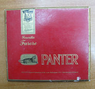 AC - PANTER NETHERLANDS HOLLAND CIGARS TOBACCO OPENED FULL BOX FOR COLLECTION  - Around Cigars