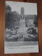 Esvres. Le Monument Aux Morts. - Autres Communes