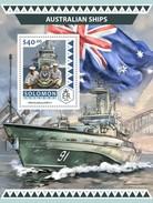 Solomoneilanden / Solomon Islands - Postfris / MNH - Sheet Australische Schepen 2016 - Solomoneilanden (1978-...)