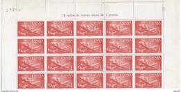 ES1172-A972TTAV.Spain Espagne.BARCO.AVION. SUPER-CONSTELLATION Y NAO SANTA MARIA 1955/56.(Ed. 1172**) BL20 - Aviones