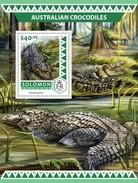 Solomoneilanden / Solomon Islands - Postfris / MNH - Sheet Australische Krokodillen 2016 - Solomoneilanden (1978-...)