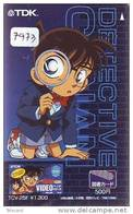 CARTE PREPAYEE JAPON * MANGA ANIME (7973) DETECTIVE CONAN * JAPAN PREPAID CARD * Movie * CINEMA - Cinema