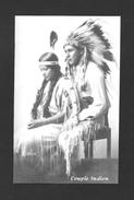 INDIENS AMÉRIQUE DE NORD - COUPLE INDIEN  CIRCA 1910 - Indiens De L'Amerique Du Nord