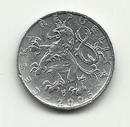 2006 - Ceca Repubblica 50 Haleru, - Repubblica Ceca