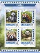 Solomoneilanden / Solomon Islands - Postfris / MNH - Sheet Australische Panda's 2016 - Solomoneilanden (1978-...)