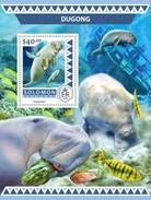 Solomoneilanden / Solomon Islands - Postfris / MNH - Sheet Dugongs 2016 - Solomoneilanden (1978-...)