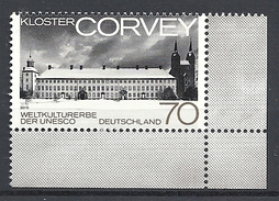 Deutschland / Germany / Allemagne 2016 3219 ** Kloster CORVEY (01. 03. 2016) - Unused Stamps