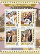 Solomoneilanden / Solomon Islands - Postfris / MNH - Sheet Australische Beroemdheden 2016 - Solomoneilanden (1978-...)